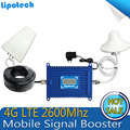 4G LTE cell phone signal  Repeater 2600MHz Signal Booster 70dBi Gain 2600 4G Lit  Mobile Phone Signal Amplifier with lcd display