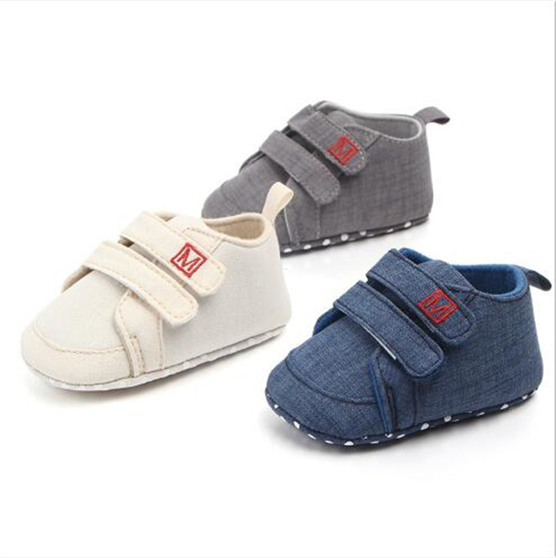 Fashion Baby Shoes Infant Antislip First Walkers Boy Girl Sport Shoes