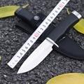 2 unids/lote Supervivencia Del Cuchillo de Bolsillo Dureza de Acero Afilada 55-57HRC Completo 22 cm cs ir Utilidad Cuchillo de Caza Que Acampa Mano herramienta