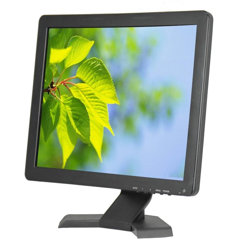 DC 12V 15 inch Full HD Led TV Monitor 15 inch Computer Monitor With HDMI VGA AV BNC USB For Sale