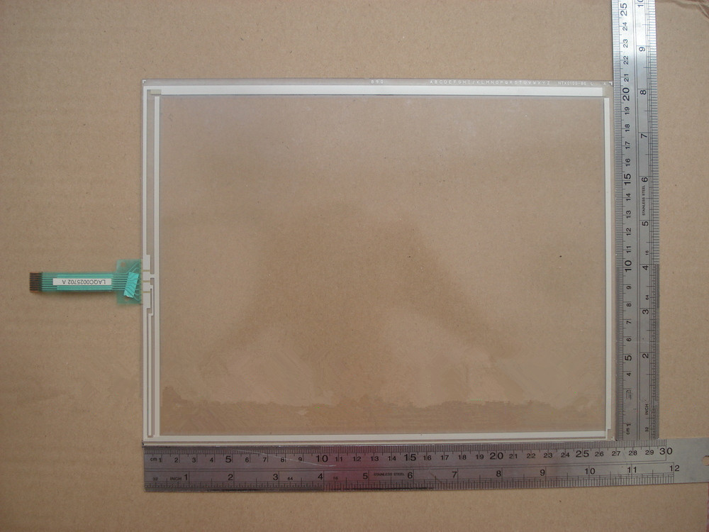 for NTX0100-86 8Wires touch 270*209mm touch screen for HMI touch panel screen for ug221h le4 for touch panel