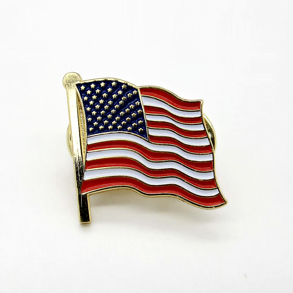 Arts,crafts & Sewing Badge Ireland Usa Friendship Flag Badge Rozet In Badges Rozet Metal Flag Badge Flag Lapel Pin Pins Xy0271 Products Hot Sale