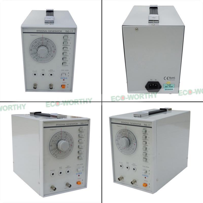 ECO Radio Frequency Signal Generator 100KHz-150MHz RF/AM Signal Waveform 220V ad8314 module 45db rf detector controller 100mhz 2 7ghz radio frequency signal measurement