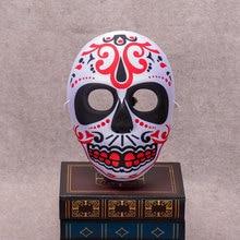 EVA Halloween Skull Mask Painted Peking Opera Mask FullFace Party Adult Kids Terror Gorgeous Supplies Ghost Masquerade Day Dead