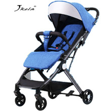 Multifunctional Baby Stroller 3 in 1 Plane Lightweight Portable High Landscape Folding Carriage suitable 4 seasons demand voondo baby stroller can sit cart 2 in 1 and 3in1reclining lightweight folding children high landscape child baby stroller bb