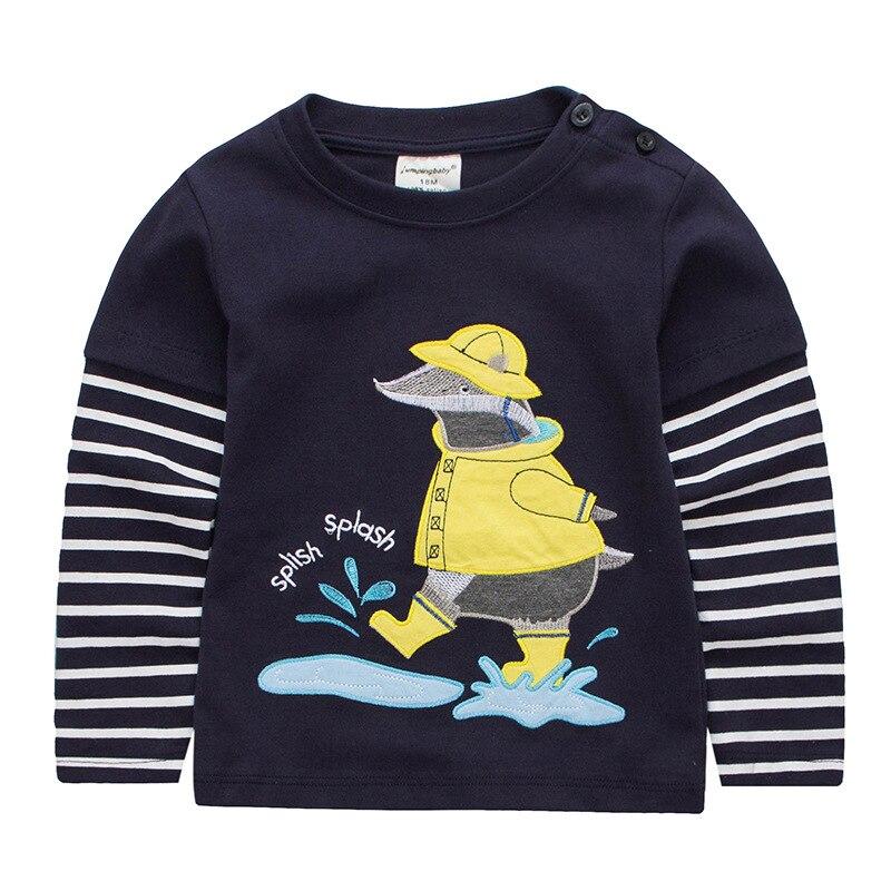 Jumpingbaby 2019 Αγόρια T-Shirt Μωρό Ρούχα - Παιδικά ενδύματα - Φωτογραφία 2