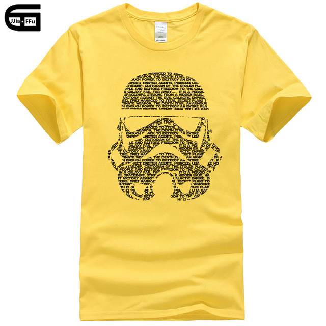 ef763248aa Summer Star Wars T Shirt Men Yoda/Darth Vader Streetwear T-Shirt Men's  Cotton Short Sleeve Cool Tops Stormtrooper Tee T190