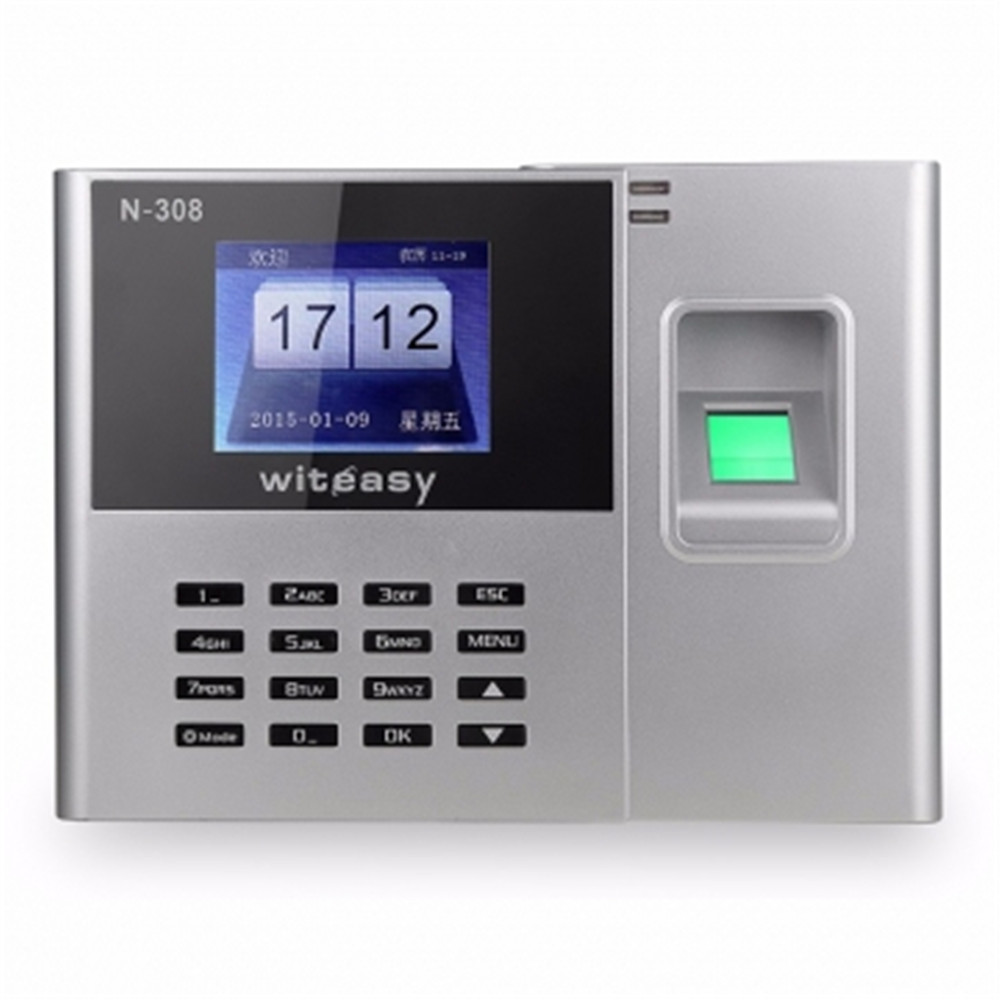 2.4 Inch 600 User Free Drive Fingerprint/Password Time Attendance N-308 2000user free drive fingerprint password time attendance a9