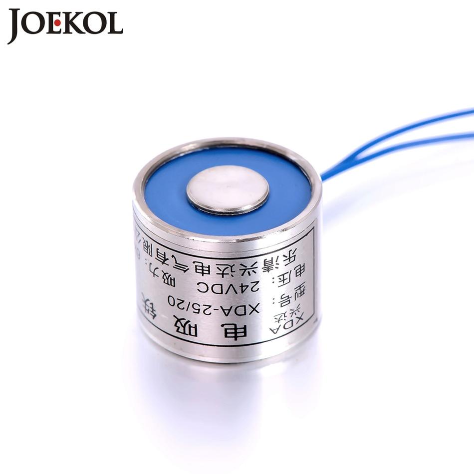 Free shipping JK25/20 Electromagnet DC 6V 12V 24V,Lifting 6KG ...