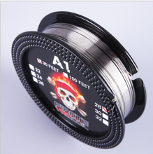30Feet 10m/roll Metal Resistance Wire RDTA RBA Rebuildable Atomizer Metal Heating Wires Prebuilt Coil Vape E Cig недорого