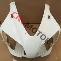 Individual Unpainted ABS Plastic Parts Upper Front Fairing Kit For Yamaha YZF R1 1998 1999 98 99