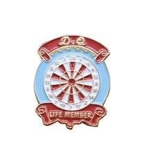 Custom Badge Stamping Plating Paint Memorial Badges