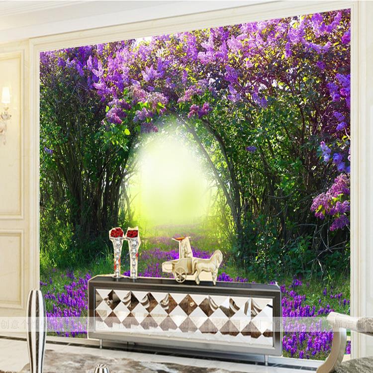Custom photo wallpaper Large mural wallpaper bedroom sofa TV ...