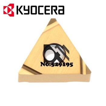 Original kyocera TNGG160401R-S PV7020 TNGG160401 TNGG 160401 Carbide Inserts Lathe Cutter Tools Turning Tool torno de bancada