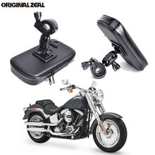 INIZEAL 360 Rotating Waterproof Bike Phone Holder Bag Motorcycle Stand soporte movil moto Outdoor Support for All Smartphone