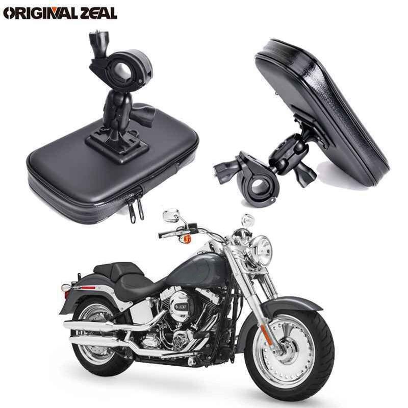 INIZEAL 360 Rotativo Suporte Do Telefone de Bicicleta À Prova D' Água Saco de moto rcycle Fique soporte movil moto Ao Ar Livre Suporte para Todos Os Smartphones