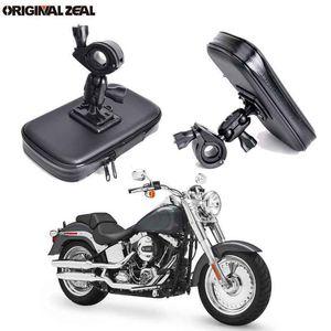 Image 1 - INIZEAL 360 Rotierenden Wasserdichte Fahrrad Telefon Halter Tasche moto rcycle Stehen soporte movil moto Outdoor Unterstützung für Alle Smartphone
