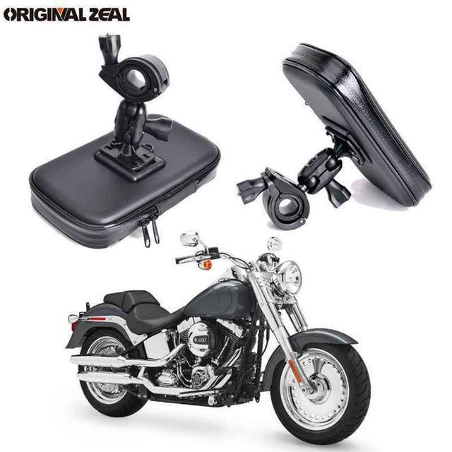 INIZEAL 360 Rotierenden Wasserdichte Fahrrad Telefon Halter Tasche moto rcycle Stehen soporte movil moto Outdoor Unterstützung für Alle Smartphone