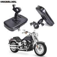 INIZEAL 360 giratorio impermeable bicicleta teléfono bolsa soporte moto rcycle soporte movil moto soporte para exteriores para todos los teléfonos inteligentes