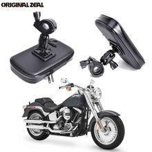 INIZEAL 360 الدورية للماء الدراجة حامل هاتف حقيبة حامل للدراجة البخارية soporte موفيل moto في الهواء الطلق دعم لجميع الهاتف الذكي