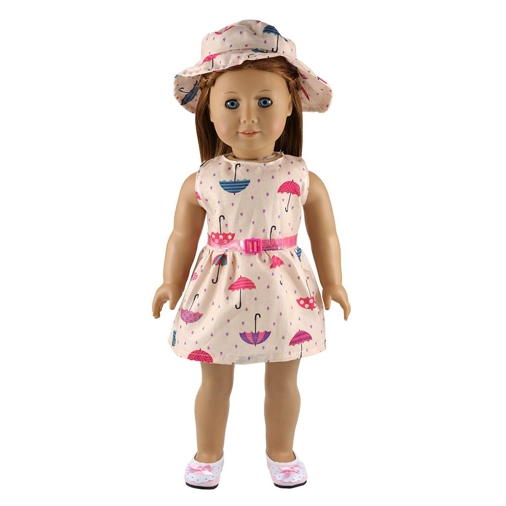 DOLL CLOTHES PINK DRESS OUTFITS PAJAMAS FOR 18 INCH OUR GENERATION XMAS GIFT TOY