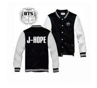 Kpop Home New Style Kpop BTS HARAJUKU Bangtan Boys Suga Jungkook Jimin Baseball Uniform Cotton Jacket