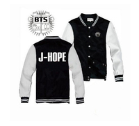 Kpop Home New Style Kpop BTS HARAJUKU Bangtan Boys Suga Jungkook Jimin Baseball Uniform Cotton Jacket