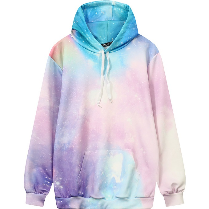 Online buy wholesale tie dye sweatshirt from china tie dye for Pastel galaxy fabric