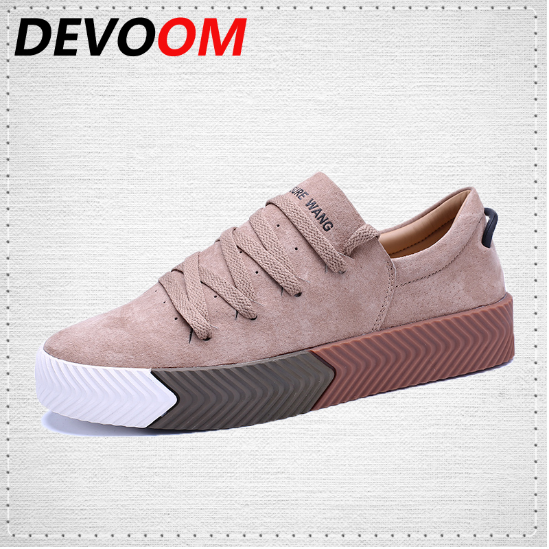 DEVOOM Superstar Zapatos Planos Ocasionales de Los Hombres de Calidad Superior 2