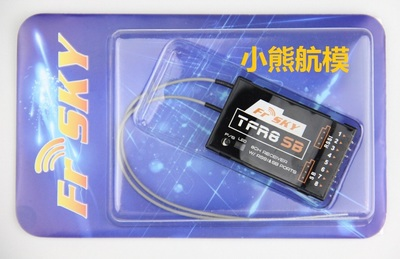 FRSky TFR8SB 8 Channel 2.4G Futaba FASST compatible receiver tfr8sb compatible s. Bus цены