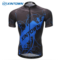 XINTOWN Cycling Jersey 2018 Pro Team Men Summer MTB Road Bike Clothing Breathable Short Bicycle Sportswear