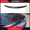 mercedes s class S320 S400 S500 S600 S350 w222 S63 car trunk spoiler carbon fiber 2015+