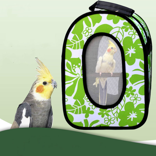 Small pet supplies parrot out portable backpack detachable pet bag breathable package bird with out cage ZP7021414