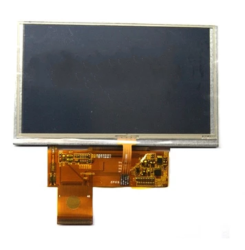 5 inches 800 x480 HD GPS E navigation line of E and liquid crystal display screen 40p free shippingg