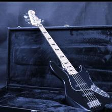 Jazz Bass 5 String Electric Guitar Z-ZV3 Free Shippping Black basswood Body