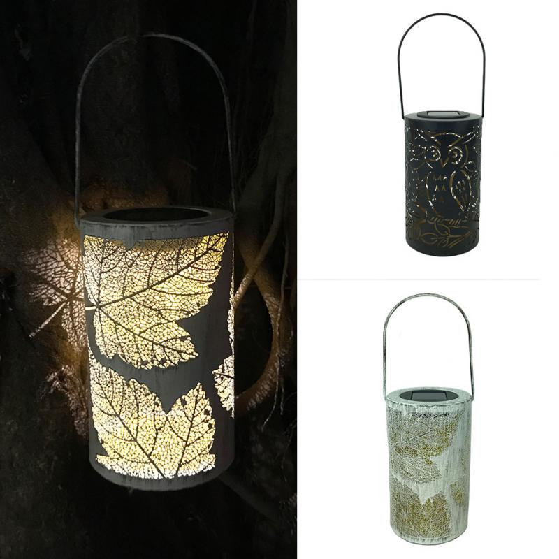 купить Retro LED Solar Lantern Hanging Lamp Outdoor Rechargeable LED Light Bulb for Garden Yard Patio Lawn Party Decorative Waterproof по цене 830.93 рублей
