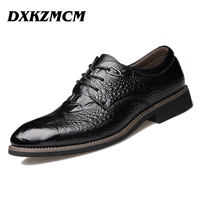 2016 Handmade Men Dress Shoes High Quality Genuine Leather Men Oxford Leather Men Flats Shoes