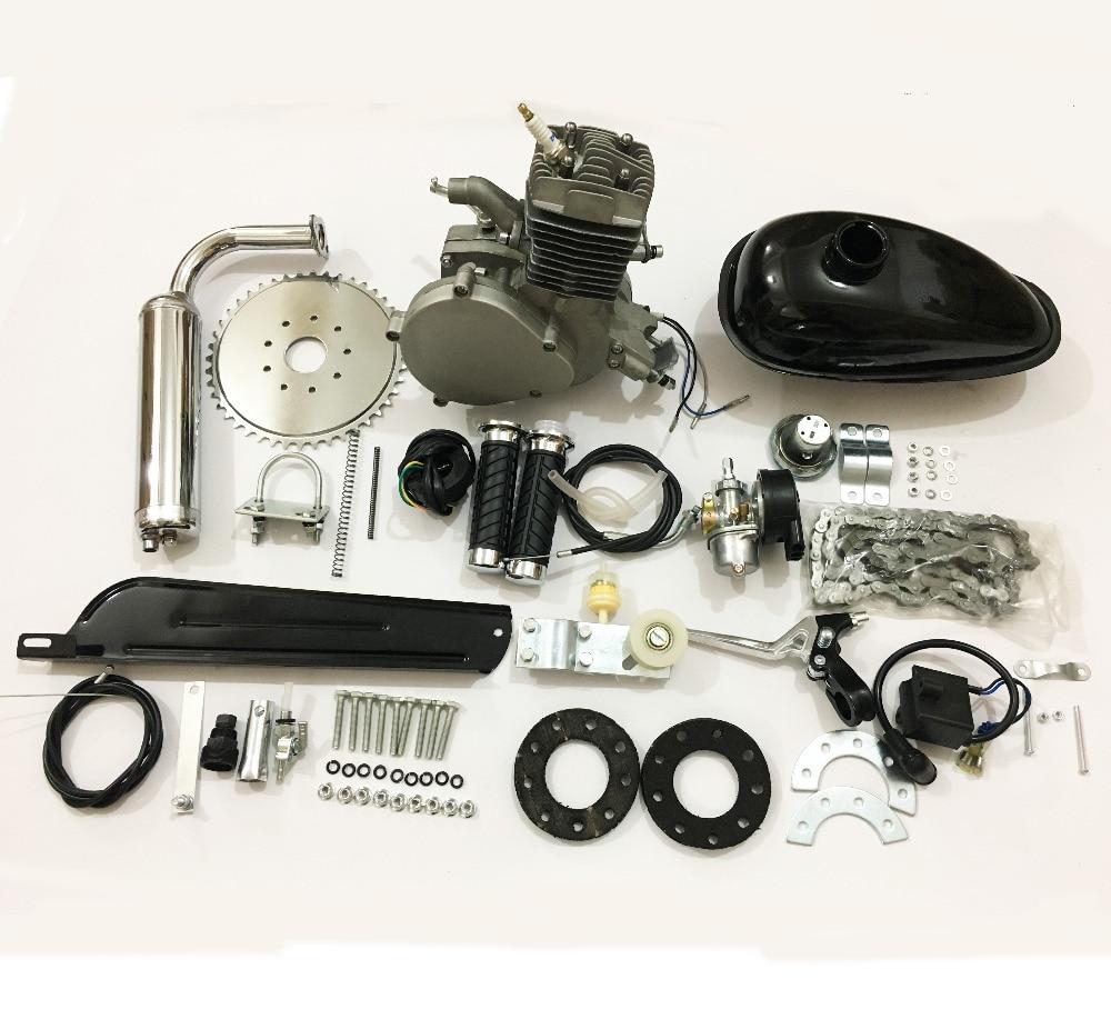 c92bf4eb89f UPgraded 80cc 2-Stroke Engine Motor Kit for Motorized Bicycle Bike Gas  Powered