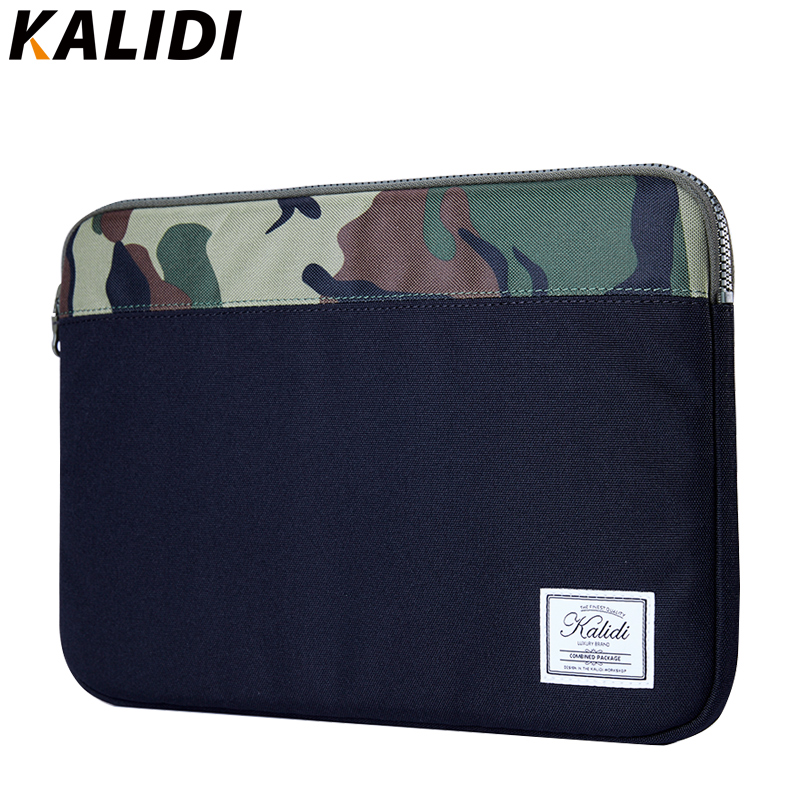 KALIDI Laptop Sleeve Bag Case Ultrabook Notebook Pouch for 11 13.3 13 14 inch MacBook Air Pro Retina Dell HP Samsung Asus Acer 2017 newest hot sleeve case bag for macbook laptop air 11 12 13 pro retina 13 3 protecter wholesales drop free shipping