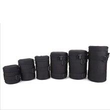 UJM Pro Водонепроницаемый толще Камера мягкий объектива сумка Чехол протектор пояс держатель для Canon Nikon Tamron sony объектива