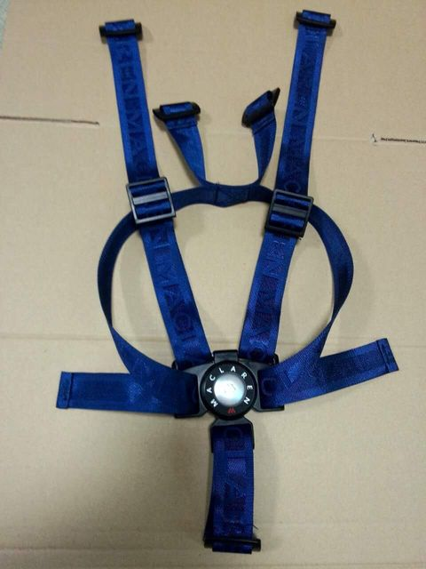 Maclaren genuine 5 point seat belt adjuster belt with shoulder ...