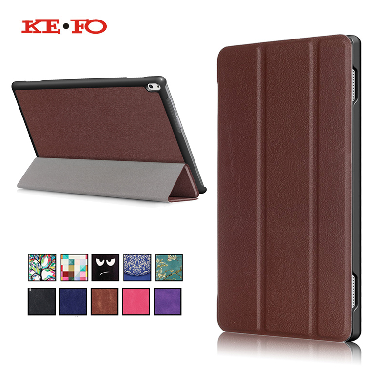 For Lenovo Tab 4 10 Plus TB-X704L X704F TB-X704N 10.1inch Tablet Case Smart Protective PU Leather Tab4 10 plus TB X704L Cover high quality folio pu leather case cover for lenovo tab 4 10 plus tb x704f x704n 10 1 inch tablet stylus film