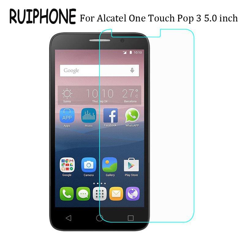 Ruiphone закаленное Стекло для <font><b>Alcatel</b></font> One Touch POP 3 5.0/OneTouch POP 3 5.5 дюймов от POP3 Экран протектор защитный Плёнки гвардии