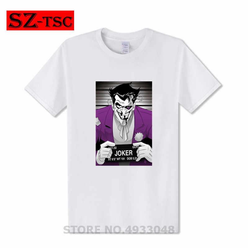 Человек, который смеется Джокер, Клоун Футболка мужская летняя забавная Футболка Джокер печать футболка юмором аниме футболка почему так много 3D футболка