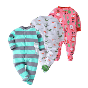 Neue Baby Frühling Jungen Kleidung Neugeborenen Strampler Baby Mädchen Overall Warme Fleece Kinder Overall 0-12m Billig Infant outfit Kleidung