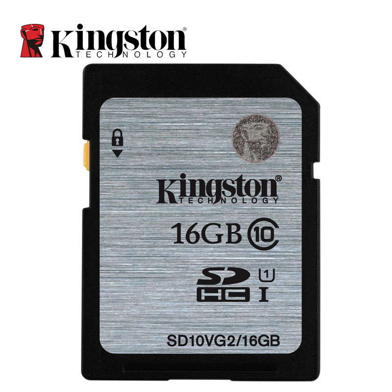 Kingston Digital карты памяти SD 8 ГБ 16 ГБ 32 ГБ 64 ГБ 128 ГБ SD карты SDHC SDXC UHS-I HD Video Class 10 SD карты 45 м/с для мобильного телефона ...