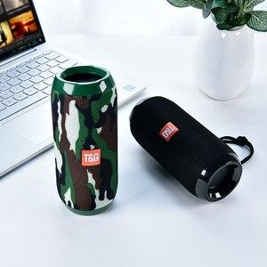 Image 5 - TG117 Bluetooth haut parleur extérieur étanche Portable sans fil colonne haut parleur boîte Support TF carte FM Radio entrée Aux