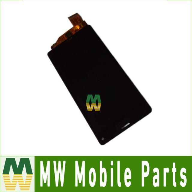 1 pçs/lote preto cor branca para sony xperia z3 mini compact Display LCD + Touch Screen + Ferramentas + Adesivo Livre Fita