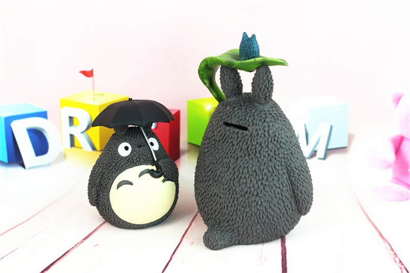 Creative Totoro Vinyl Money Box Children Piggy Bank Kids