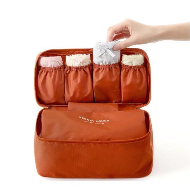 Brand Bra Underwear Women Organizers Travel Bag Waterproof Makeup bag Toiletries Storage Bra Bag Travel Women Bag